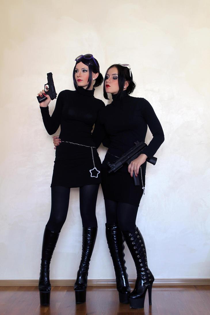 DeWynter sisters by LaynesLionRedCat