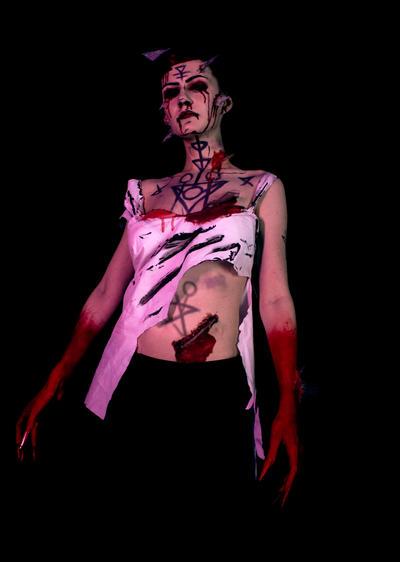 Bloody Mary, Bloody Mary, Bloody Mary! by LaynesLionRedCat