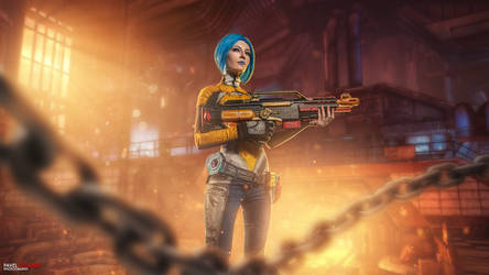 Maya - Borderlands 2 by LaynesLionRedCat