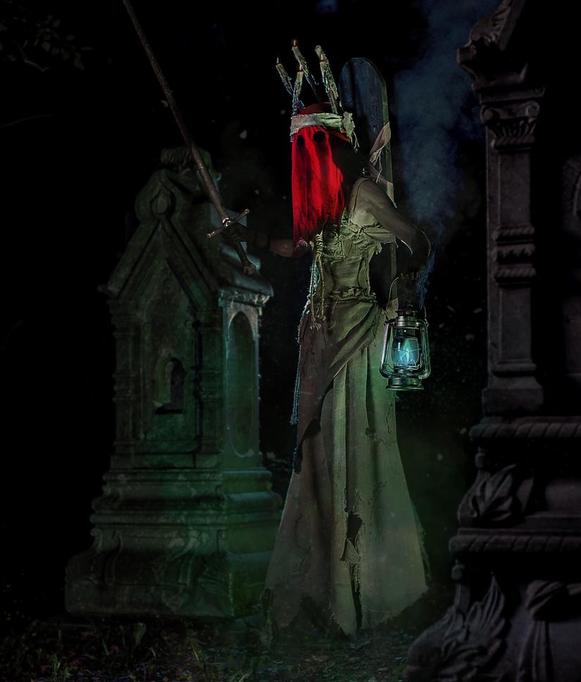 Wraith (Witcher 2-3 ) by LaynesLionRedCat