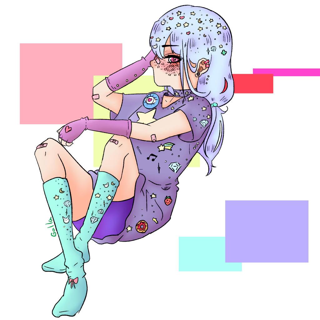 Sweety girl by Hoshi-draw