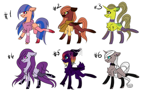 [OPEN] Pony Adoptables #7