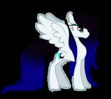Cyan Crystal In MLP Style by MinElvi