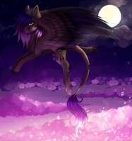 [COLLAB] Evening Howler by MinElvi