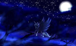 Night Princess by MinElvi