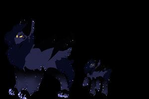 New Ponysona Concept -  Elwi by MinElvi