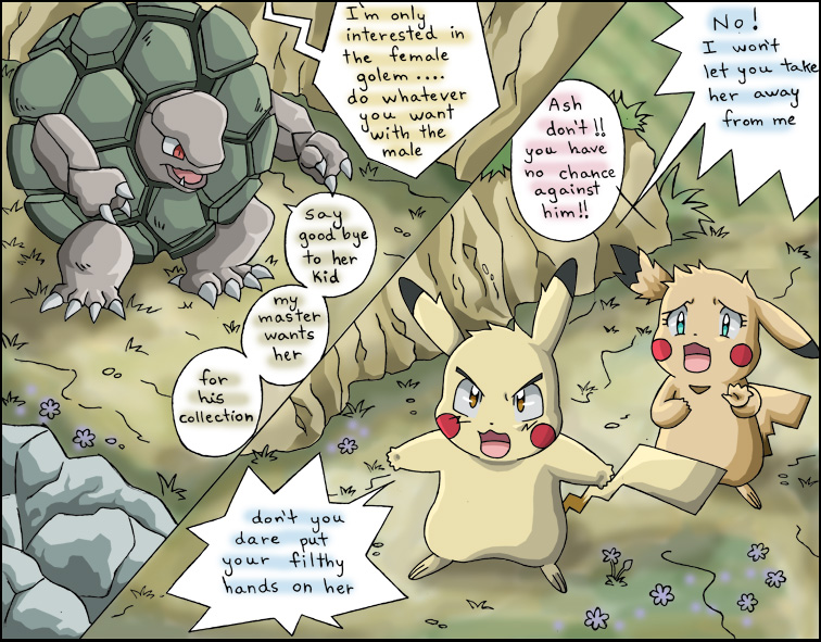 Pokemon Ash and Misty Comics