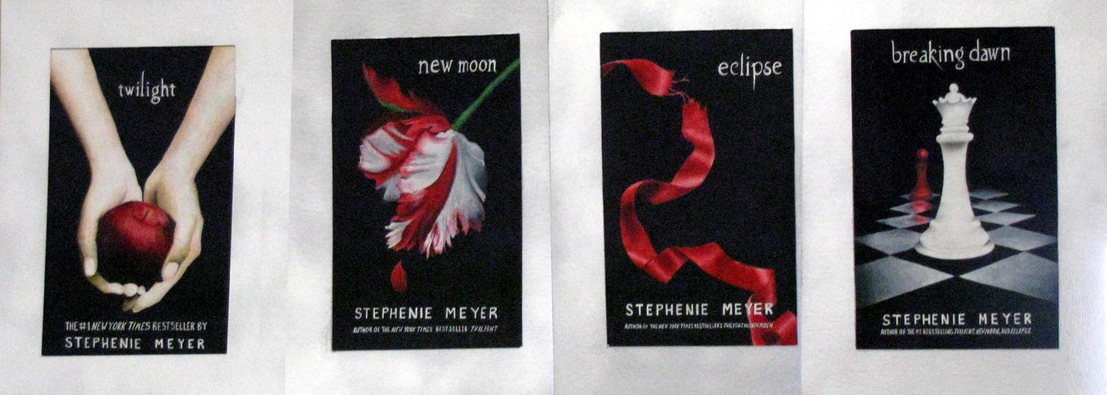 Twilight Saga Books Twilight Saga Covers