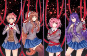 Doki Doki Literature Club: Ribbons