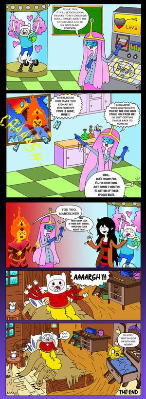 Adventure Time comic: EVERYBODY LOVES FINN!