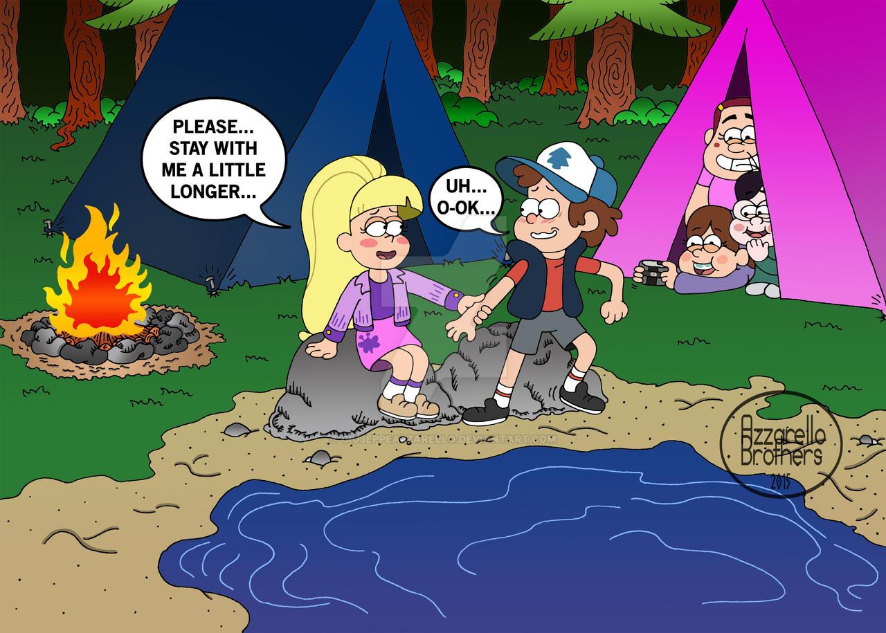 Gravity Falls Camping Of Love By Giuseppeazzarello On Deviantart