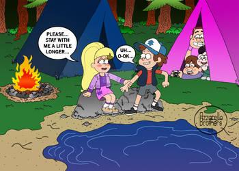 GRAVITY FALLS: Camping of love