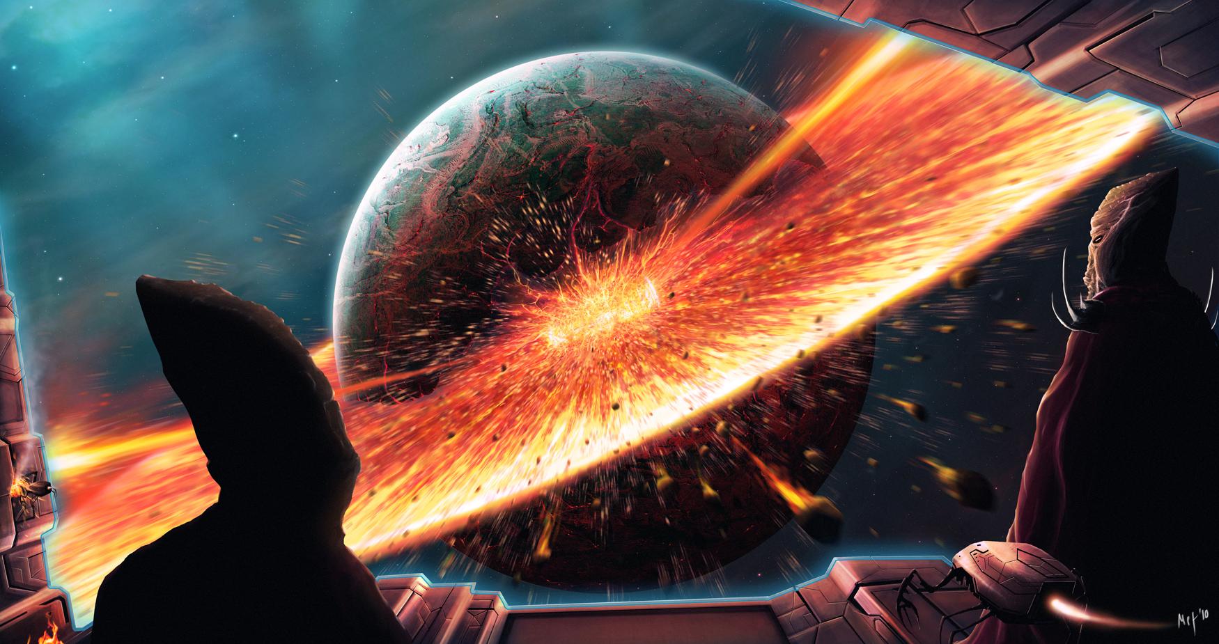 Lava burst by M3-f