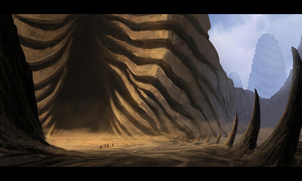 Alien Temple by M3-f