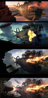 Making of 'Pirates' by ArtistMEF