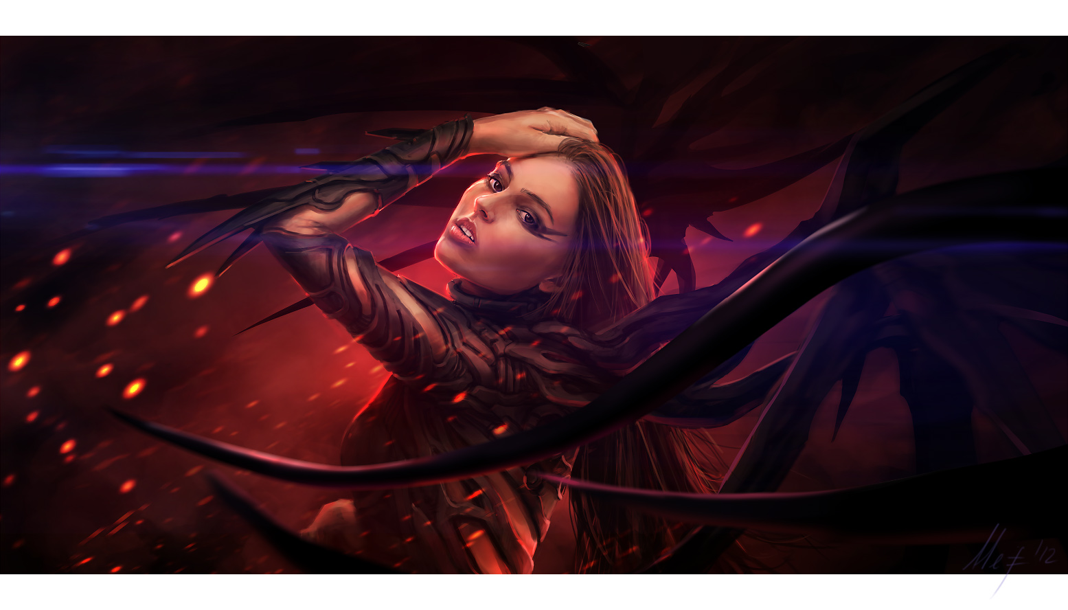 Black Black Heart by ArtistMEF