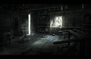 FrozenHut Interior by ArtistMEF