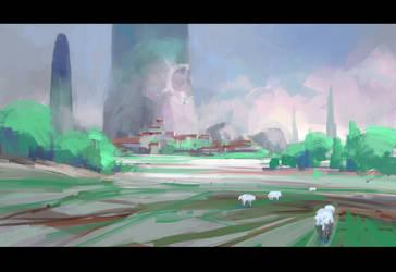 Sheeps by ArtistMEF