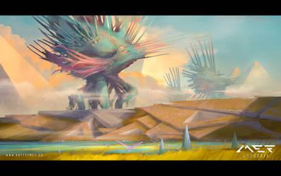 Hedgehog Migration by ArtistMEF
