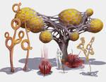 Alien Flora Concepts