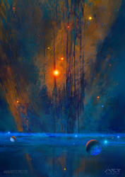 Sea Nebula by ArtistMEF