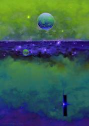 Flat Nebula by ArtistMEF