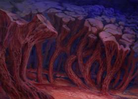 Fungi Forest by ArtistMEF