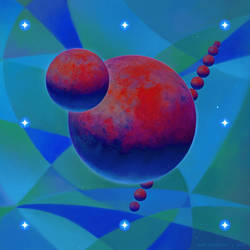 Planet Movement in High Dimensional Space