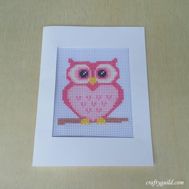 Free Pink Owl Cross Stitch Pattern By Craftyguild On Deviantart