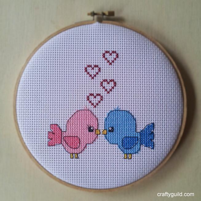 Love Birds Free Cross Stitch Pattern 1 By Craftyguild On Deviantart