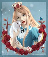 Alice in Wonderland by Wickellia