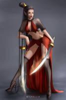 Warrior Desing by Wickellia