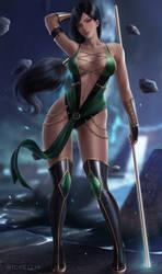 Commission: Jade Mortal Kombat 9