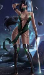 Commission: Jade Mortal Kombat 9 (V2)