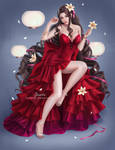 Aerith Red Dress