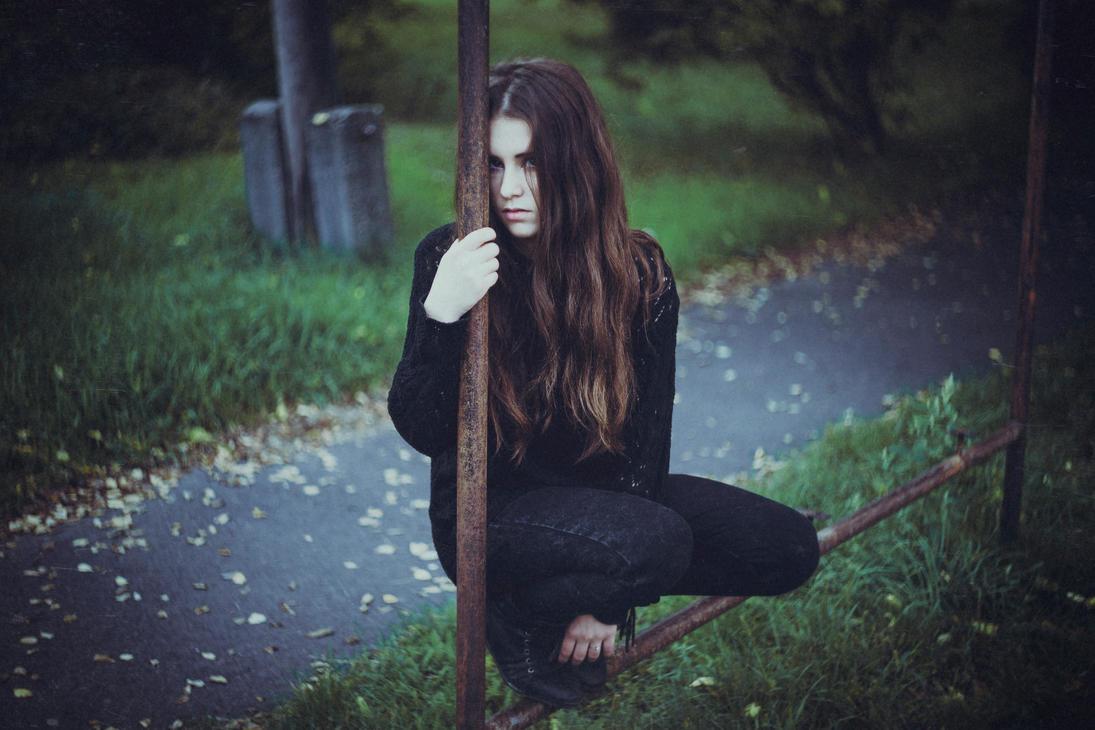 Outlaw girl by Norrington1
