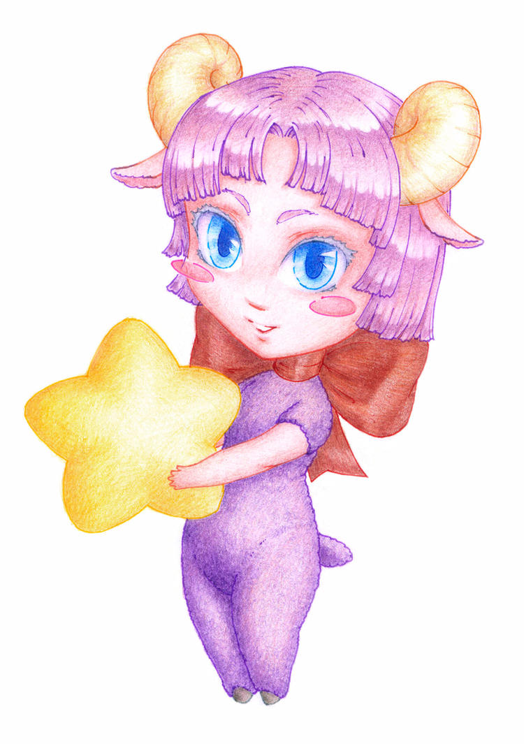 Chibi-sheep by Nastix-M-Scarhl