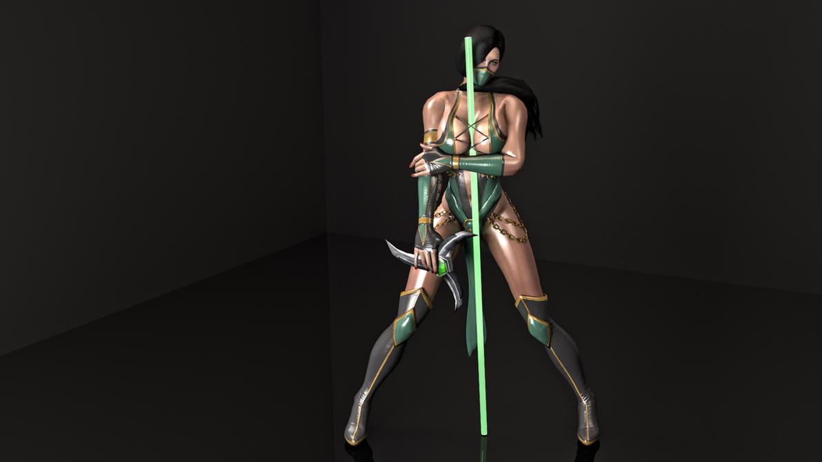 Jade MK9 -rendered- by Seumda on DeviantArt