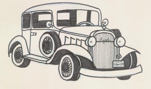 New How To Draw A Old Car Draw