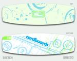 Sketch - Kiteboard Design by queedo
