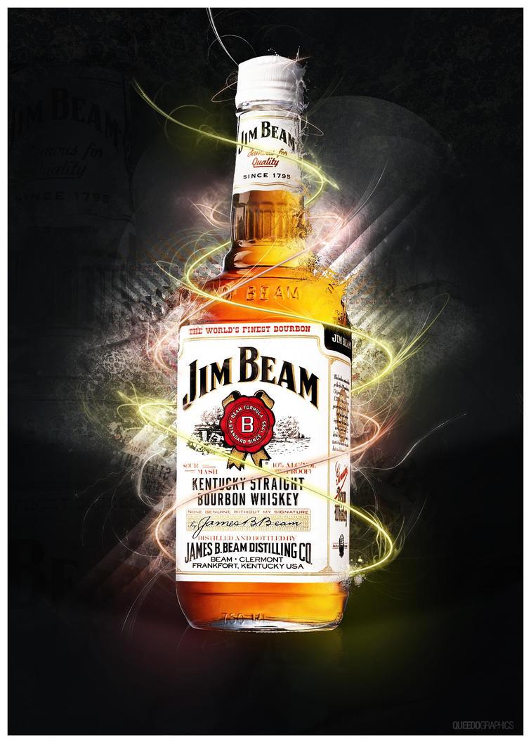 Jim Beam Bottle Cake