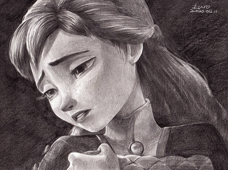 Anna, The Next right thing , Frozen Fanart