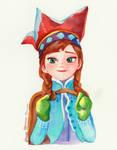 Anna Wateroclors, Frozen Fanrt
