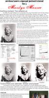 Charcoal tutorial: Marilyn