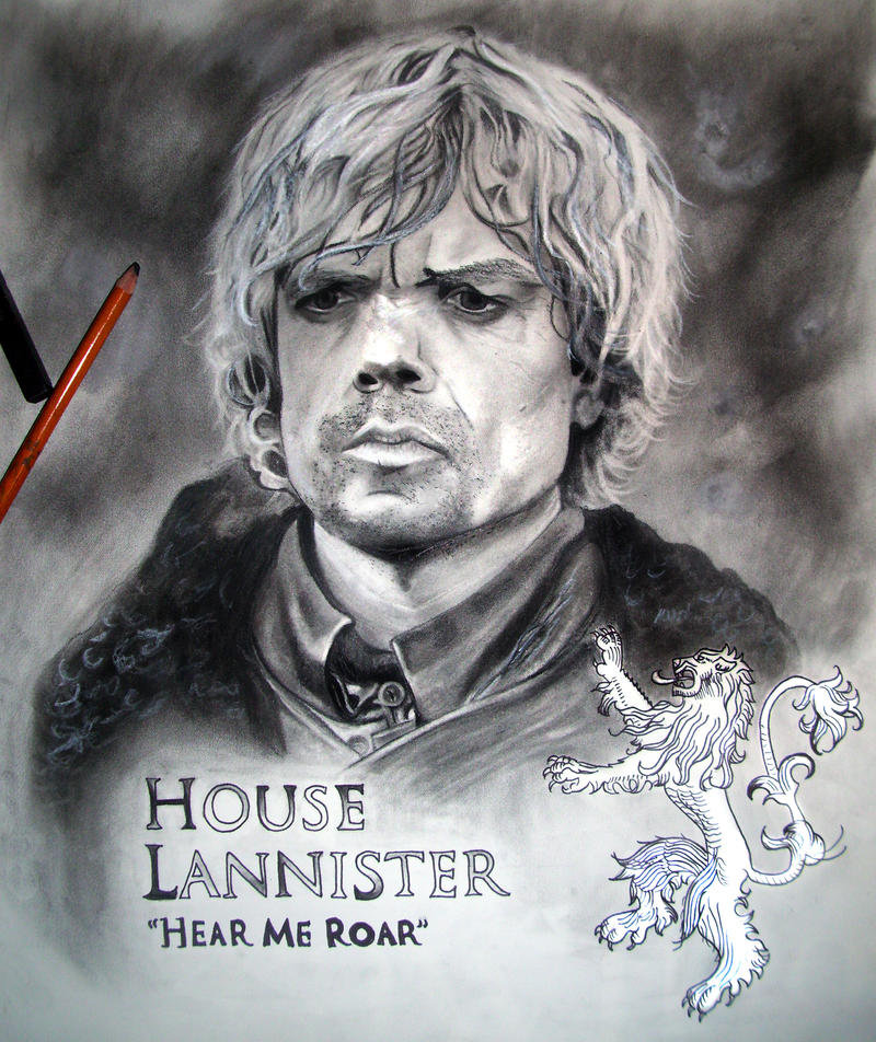 Game of Thrones: Tyrion Lannister by AnndreaLeeann on DeviantArt