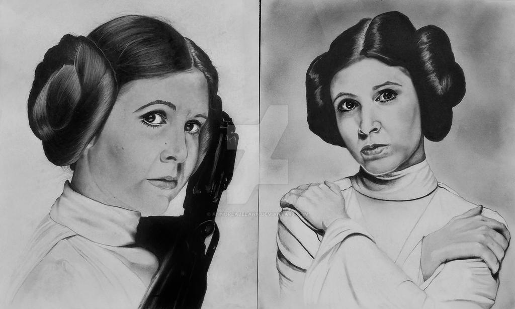 Princess Leia by AnndreaLeeann