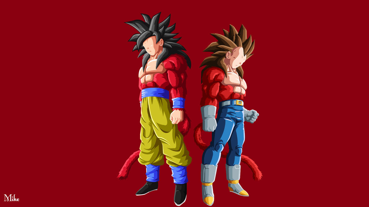 Goku and Vegetta by MikevEs