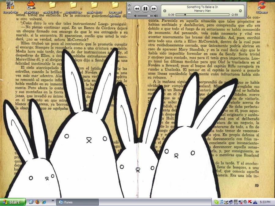 book bunnies by soychaitea
