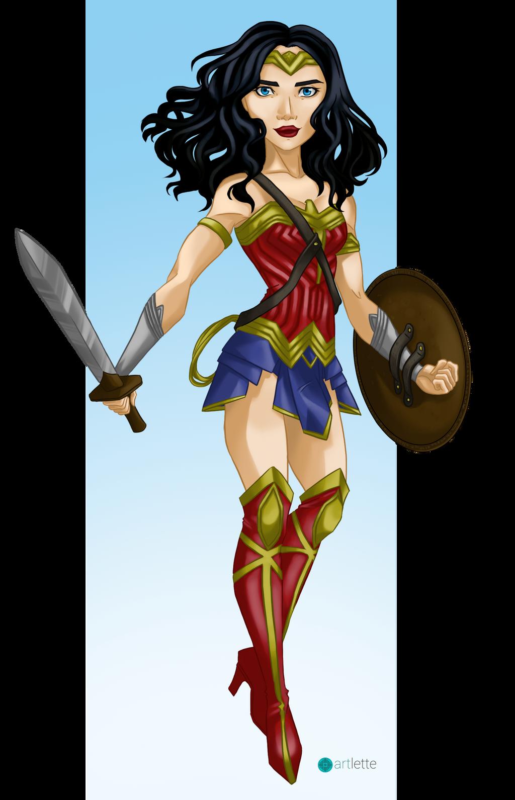 Wonder Woman by Artoflette on DeviantArt