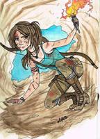 Lara Croft. by Artoflette